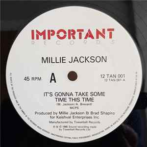 Millie Jackson - It's Gonna Take Some Time This Time / Kiss You All Over Album