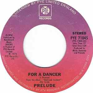 Prelude - For A Dancer Album